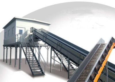 cabins for sorting lines, conveyors or stand alone